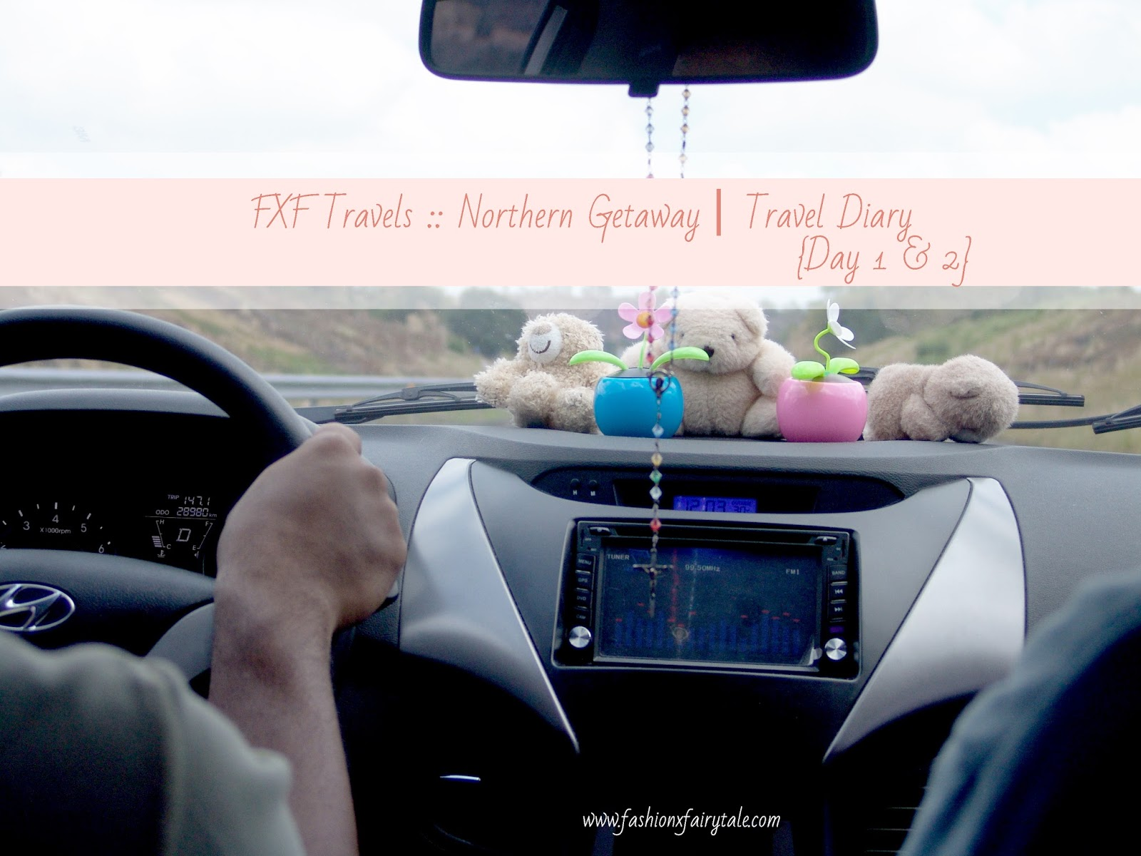 FXF Travels :: Northern Getaway   Travel Diary {Day 1 & 2}
