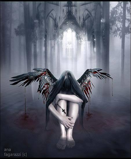 Aysha 39 s wonderland quotes about fallen angels by lauren kate - Gothic fallen angel pictures ...