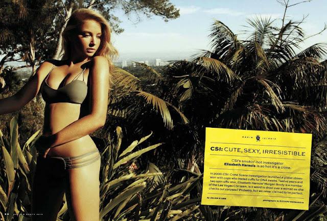Elisabeth Harnois sexy in bikini