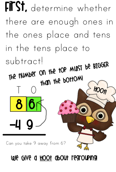 Subtraction+3+Digit+Regrouping+Posters Digit Regrouping in Many Techie ...
