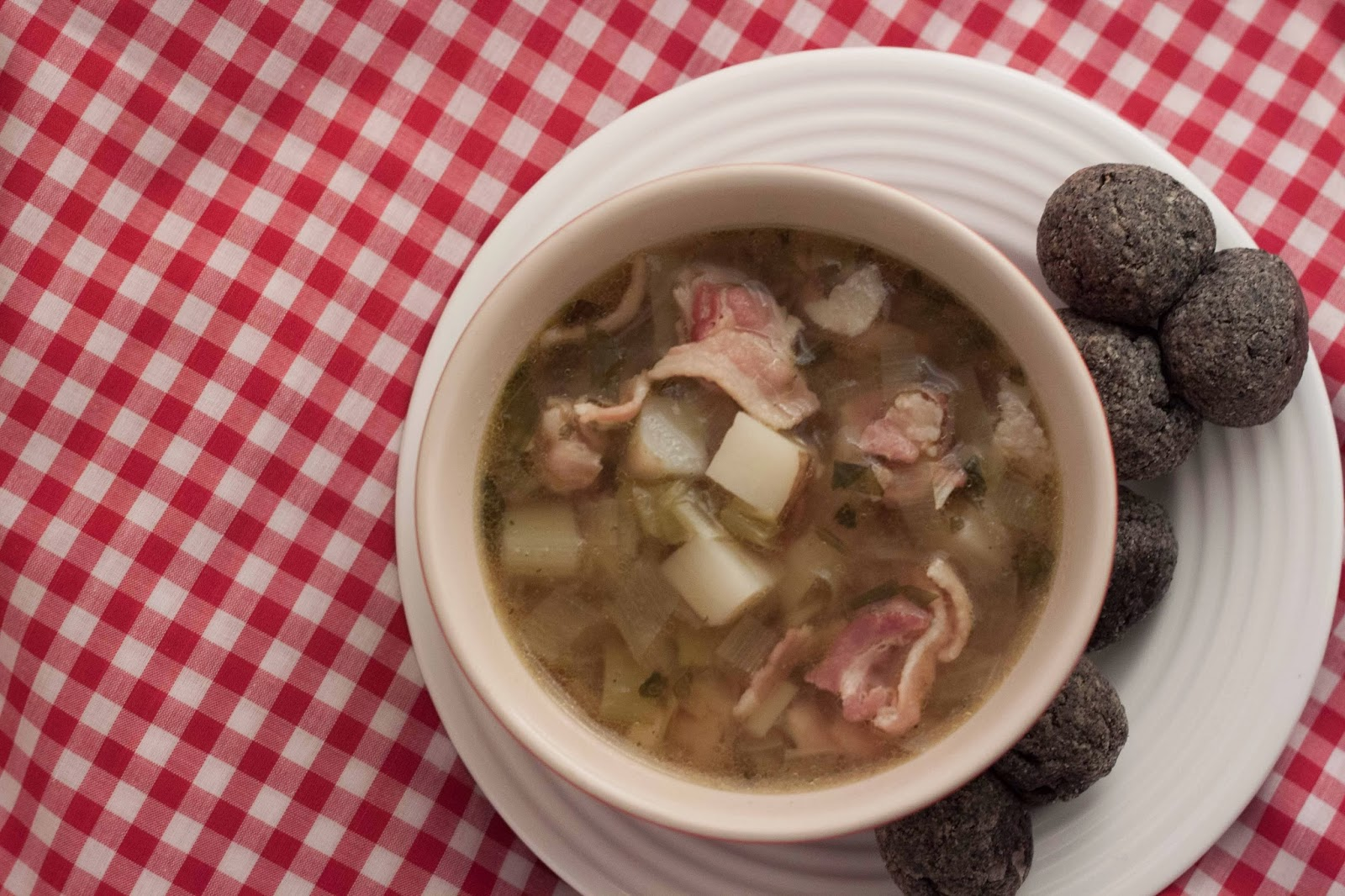 Simply Cooked: Bacon, Leek, and Potato Soup