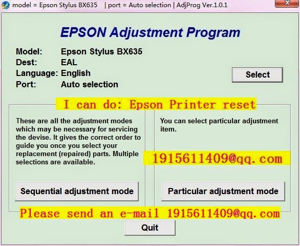 reset epson resets dx7400 adjustment program resetter free