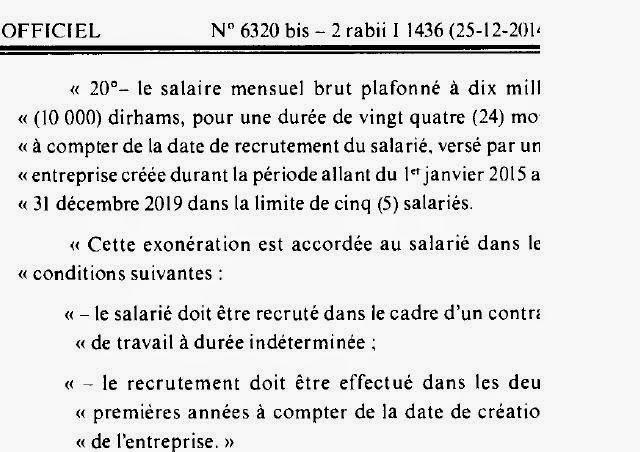 fiscaliste - le traitement des salaires - Nouveautés Loi Finance 2015