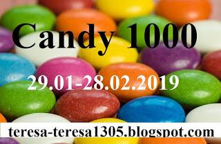 """candy w """" TERESA- haft krzyżykowy i biżuteria z koralików"""""""