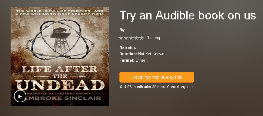 30 Day FREE Trial on Audible