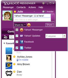 Yahoo Messenger YM 11