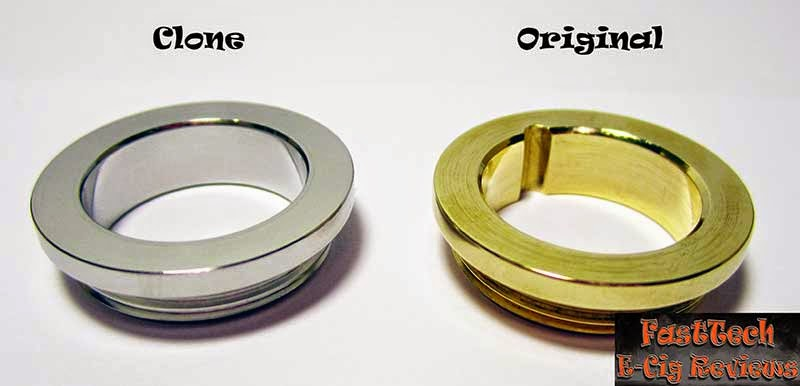 Caravela clone locking ring comparison to original caravela