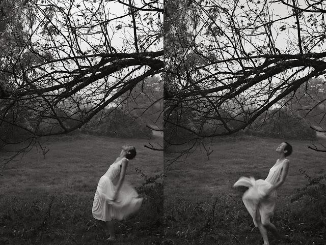 self portrait fine art black and white