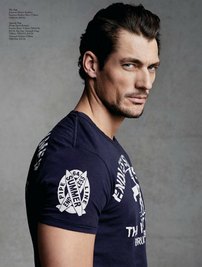 David Gandy -Source-: David Gandy for Lucky Brand Spring ...