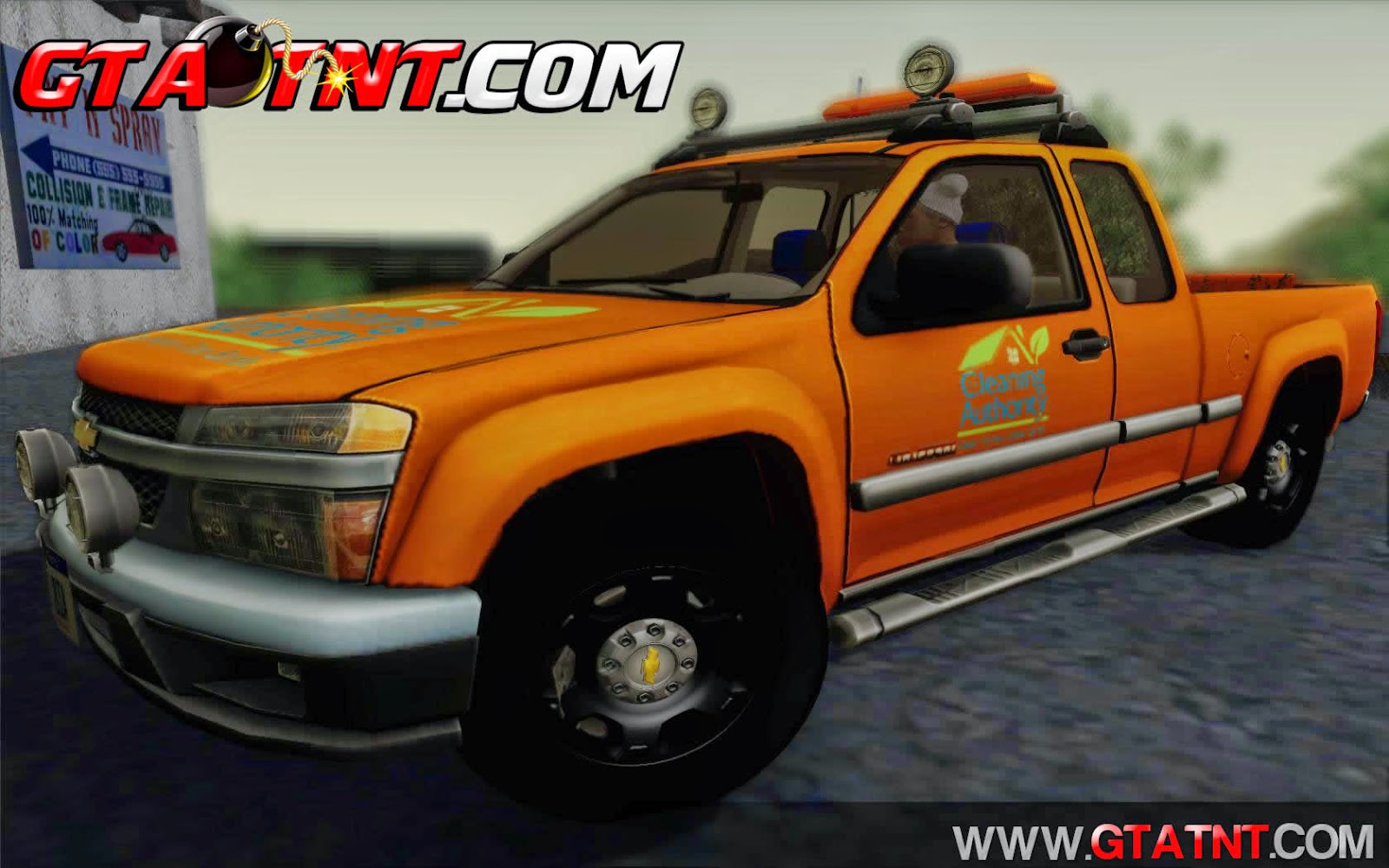 Chevrolet Colorado Cleaning para GTA San Andreas