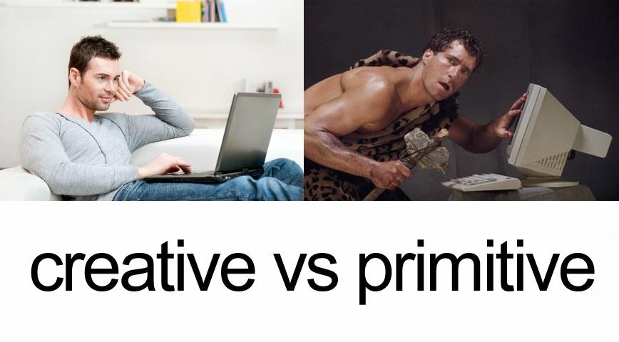 Jadilah Blogger Kreatif Bukan Primitif