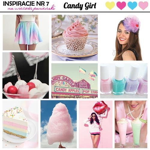 Wieczór panieński w stylu Candy Girl - inspiracje