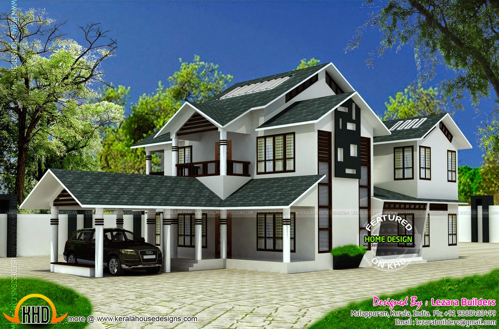 28 spectacular sloped roof houses house plans 11238 Modern roof design