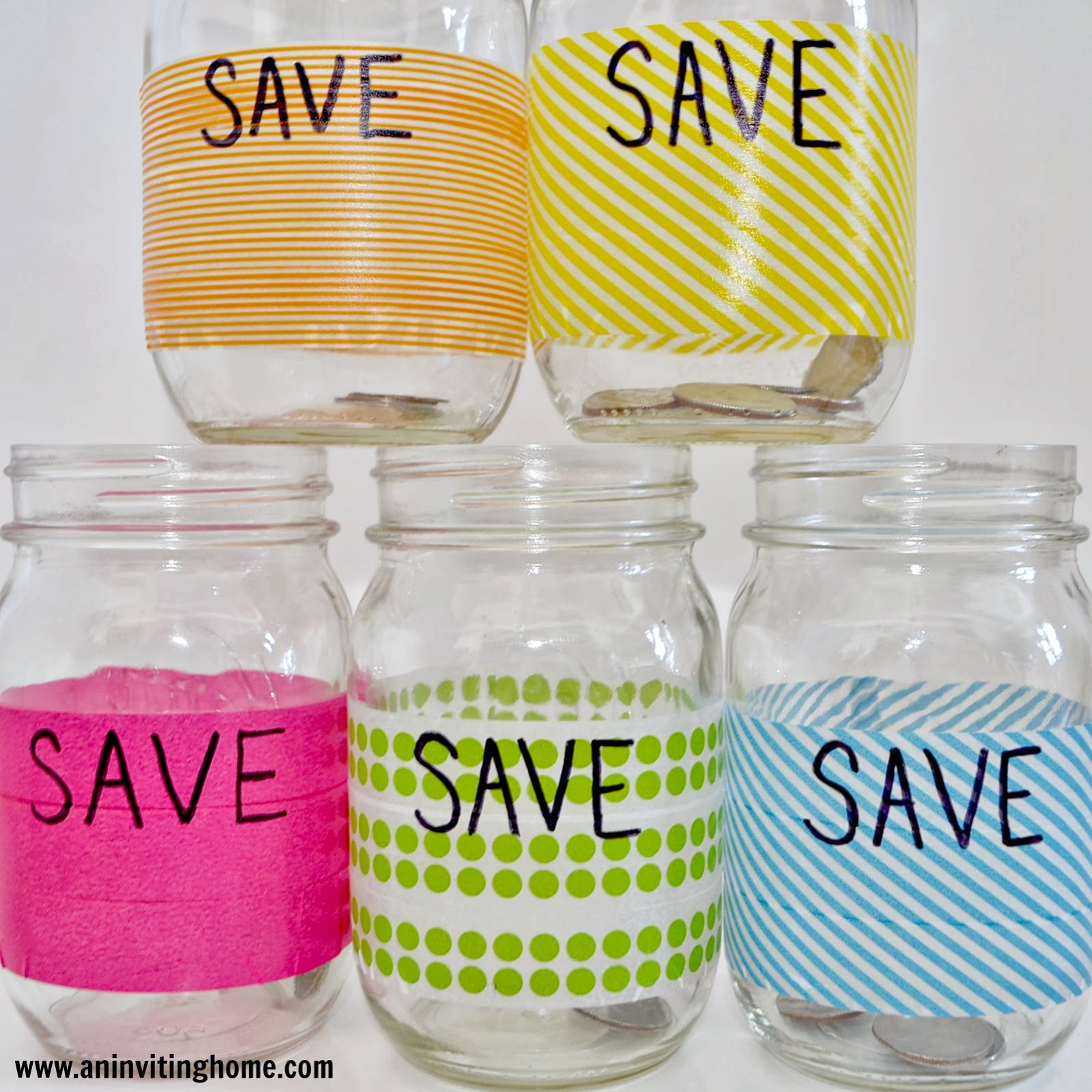 save jars for kids