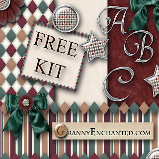 Free Gem Diamond Digi Scrapbook Kit