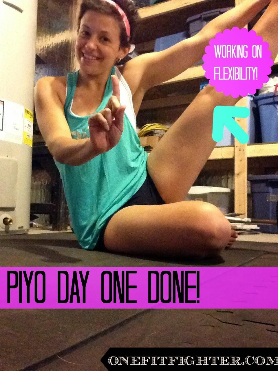 does piyo increase flexibility