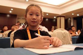 Championnat du monde - Partie 4 : une supportrice de Hou Yifan - Photo © Anastasiya Karlovich
