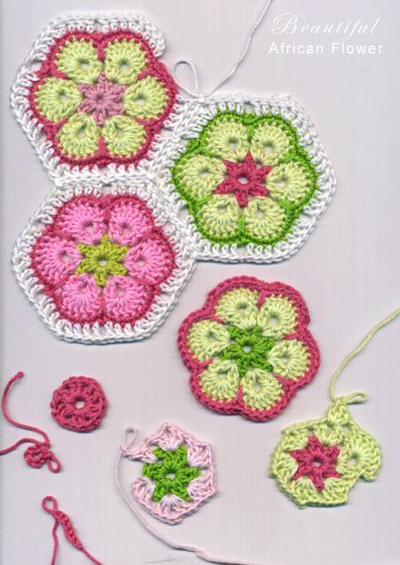 Free Crochet Pattern Octagon Motif : homework: a creative blog: Show and Tell: pretty crocheting