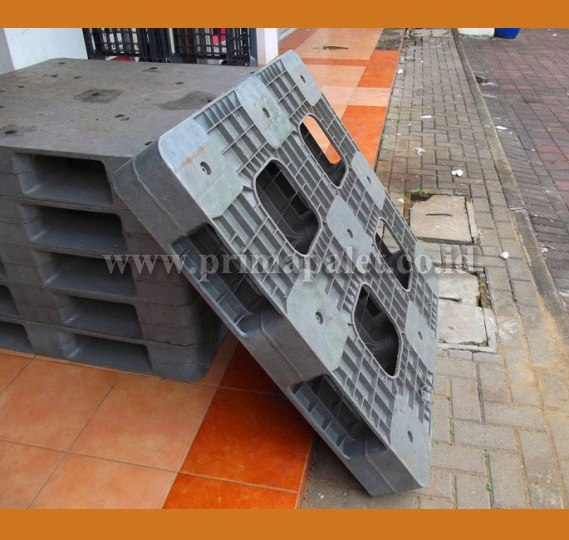 pallet plastik bekas single deck