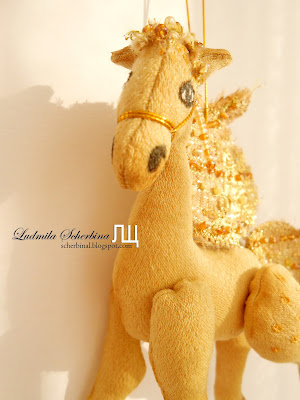мягкая игрушка лошадь своими руками. мастер-класс