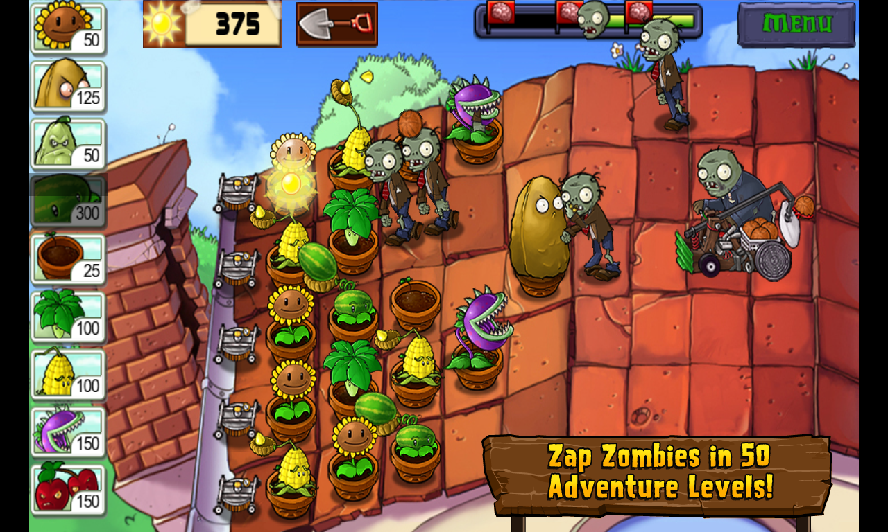 Plants vs. Zombies Apk + Data Offline
