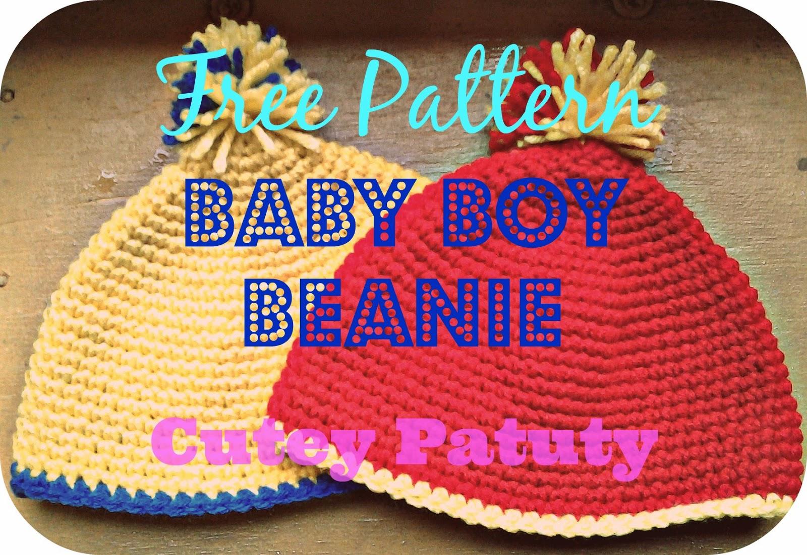 <Baby Boy Beanie>