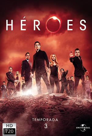 Heroes Temporada 3 [720p] [Latino-Ingles] [MEGA]