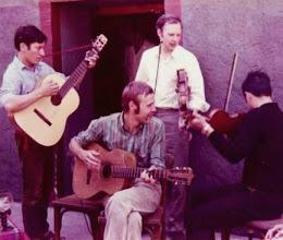 Bei Fritz Bastian im 'Grünen Baum' Bacharach - 1970