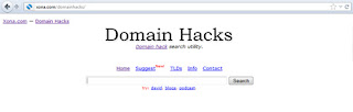 Memilih Nama Domain melalui Teknik Domain Hack