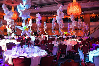 Corporate Party designed by Sue Bowler CBA