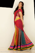 Kajal Agarwal Cute Half Saree Hot photo Shoot-thumbnail-2