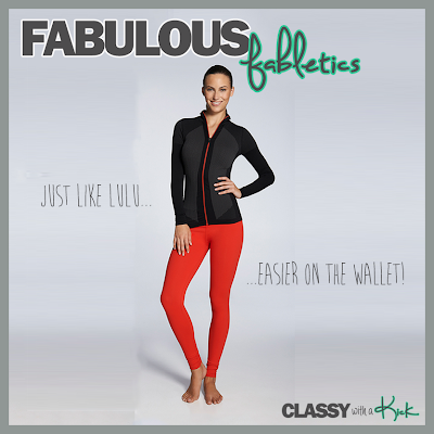 Classy with a Kick: Fabletics Work Out Wear Review Spirited