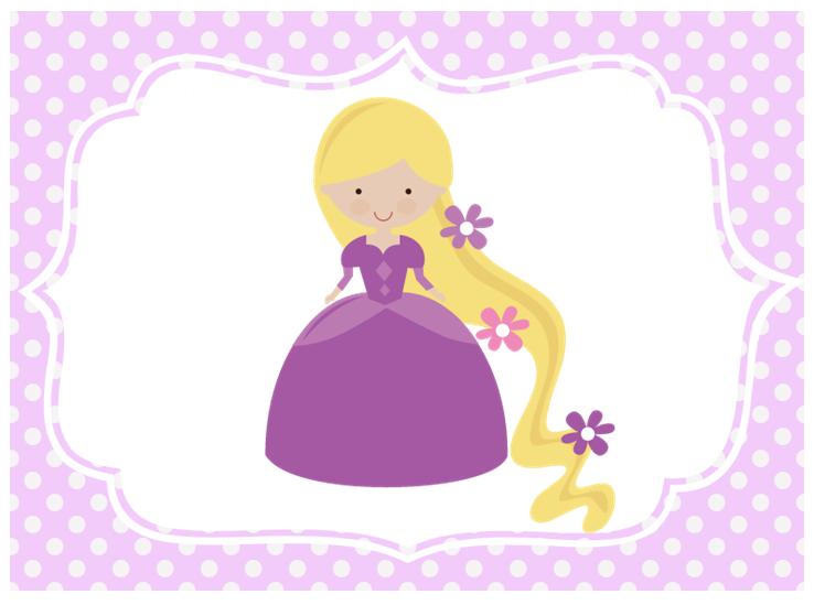 Centros de mesa: Rapunzel.