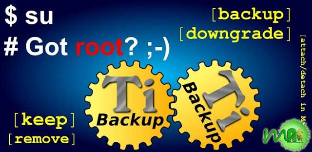 Titanium Backup Pro 6.2.0 APK
