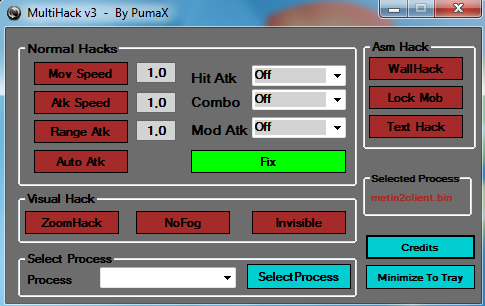 Metin2 Pumax Multihack v3.0 Download – indir – Yeni Metin2 Multihack Hilesi