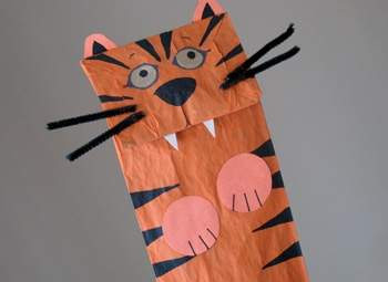 Tiger Puppet: Barefoot Books-LadyD