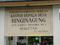 Kantor Desa Ringinagung Magetan