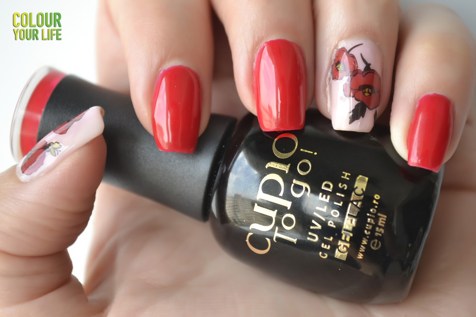 Colour your life: Gel polish for the first time on my nails