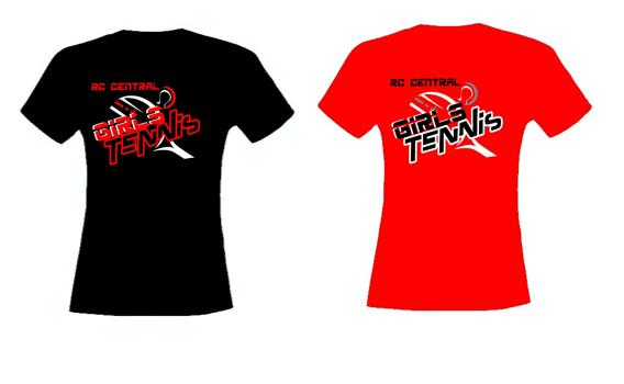 rapid city central tennis team t shirt designs