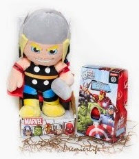 Click here to purchase your Thor pushie with Avengers Milk Chocolate Easter Egg and Bar set!