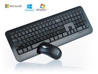 Bezprzewodowa klawiatura i myszka Microsoft Biedronka
