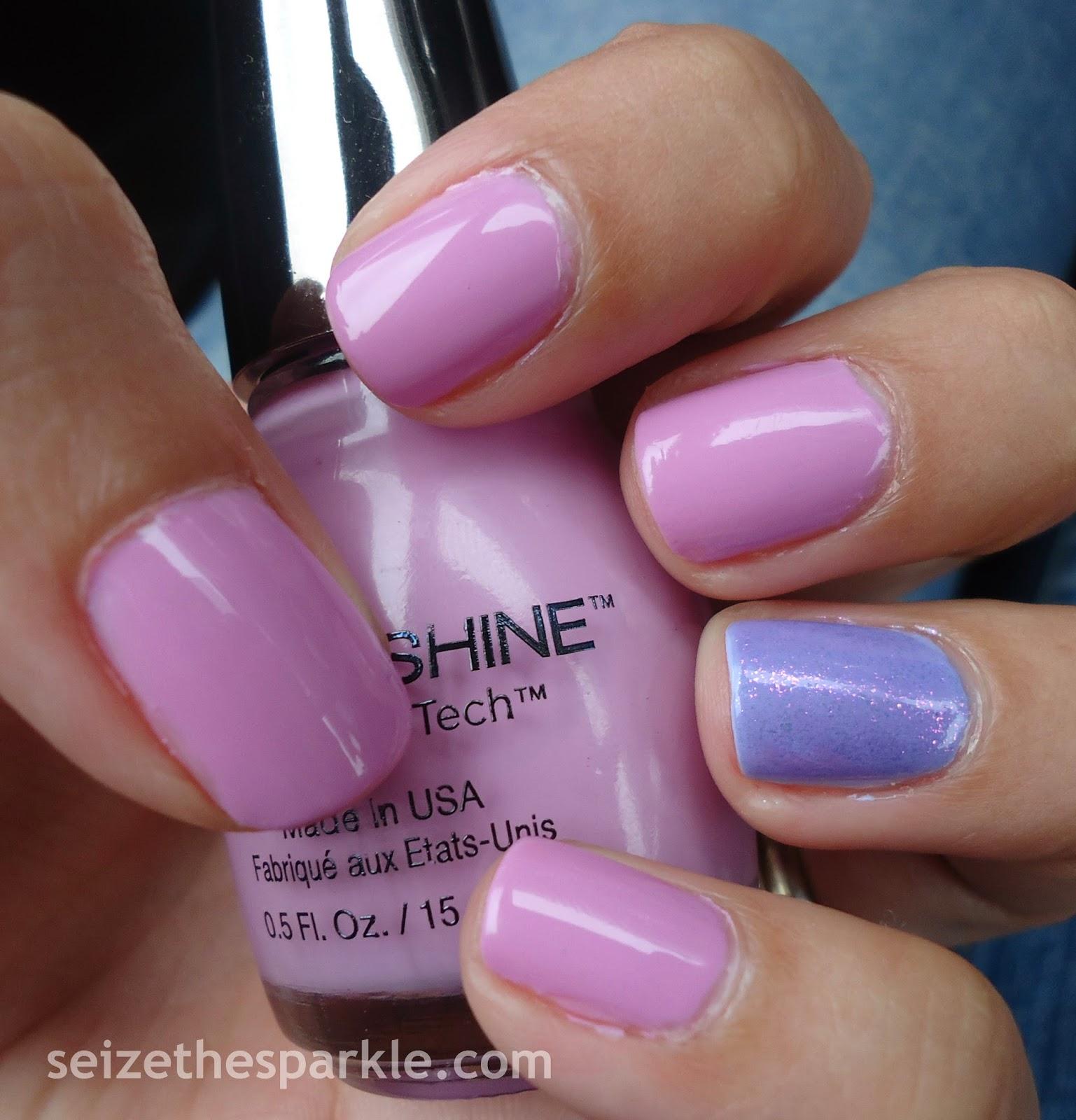 Sinful Shine Spiftire Accent Manicure