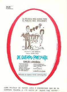 De cuerpo presente | 1967