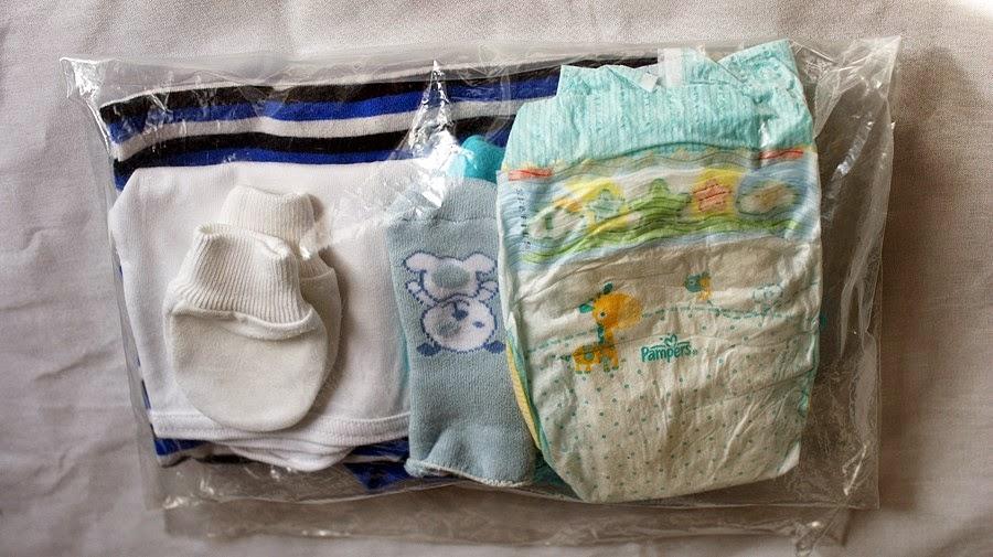 Ubranko po porodzie