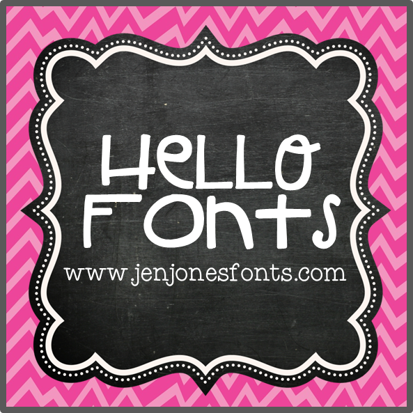 And fonts by