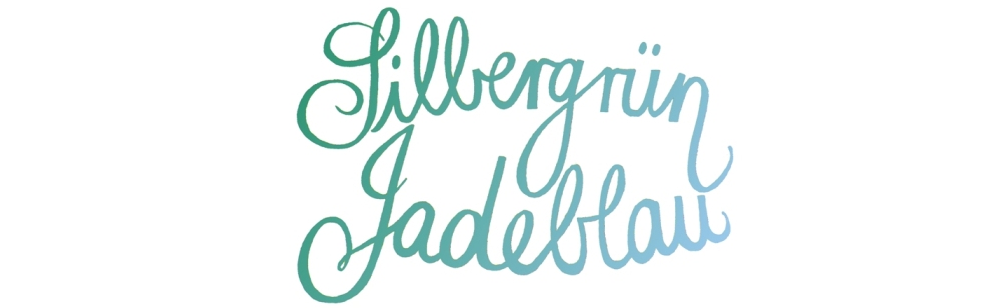 Silbergrün Jadeblau