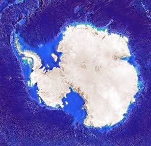 gran cañon bajo hielo antartida
