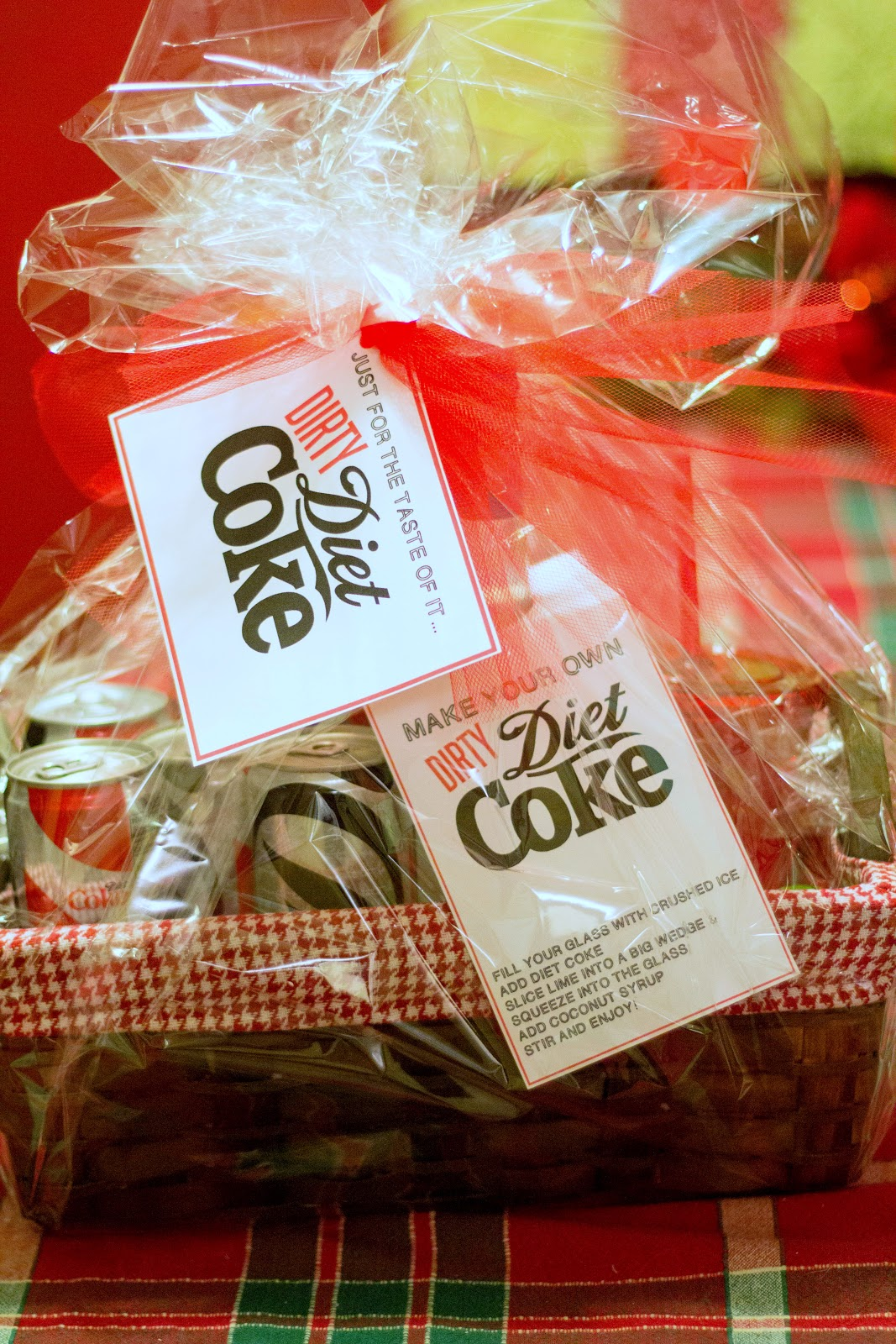 """Crafts reDesigned: A little """"dirty"""" {Non-Alchoholic} Diet Coke Gift"""