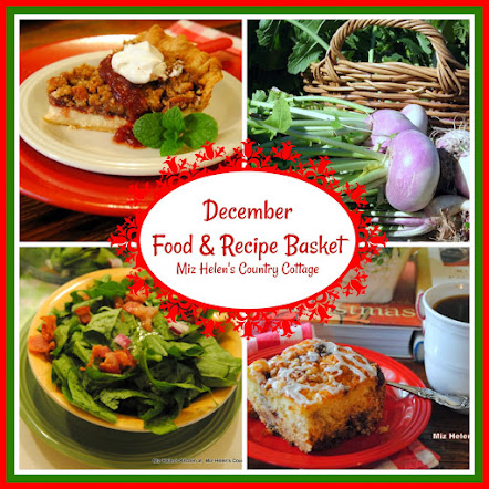 December Food and Recipe Basket