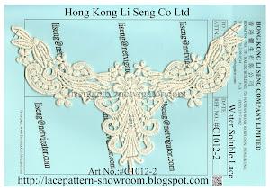 Water Soluble Lace Manufacturer - Hong Kong Li Seng Co Ltd